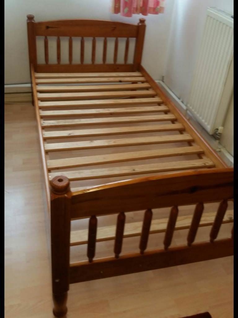 1c36c81ad884 QUICK SALE SINGLE WOODEN BEDS WITH MATTRESSES