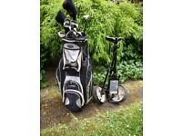 Set Of Golf Clubs. . .Ideal for a beginner or Improver + Golf Trolley