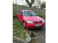 Vauxhall astra 2001