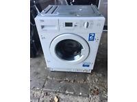 Because integrated washing machine