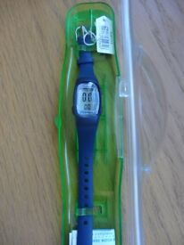 Unused new lorus navy blue ladies sports watch. Still in box, label attached. Cost £25