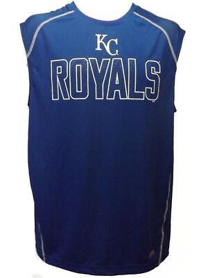 Kansas City Royals Mens S-M-L-XL-2XL-3XL Performance TX3Cool Sleeveless Shirt