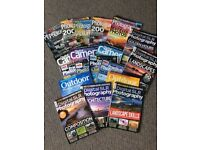 Camera Magazines - Stack of 20 Quality mostly recent 2018 editions