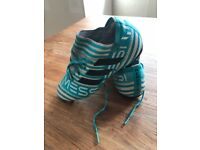 Football boots Adidas nemesis pure control strip size 2
