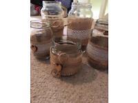Bulk of rustic jars