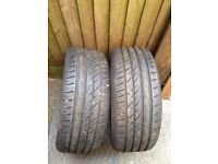 Pair 2 x 225/45/R17 Tyres +6mm Tread collection Greenford