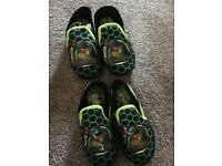 Boys ninja turtles slippers