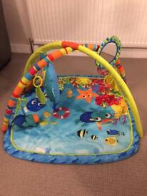 Baby Toys Bundle - gym, sit-me-up & tummy time roller