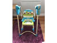 Fisher Price baby rocker swing chair