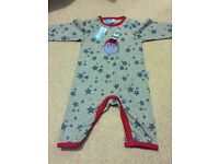 Boys baby grow, age 3-6 months