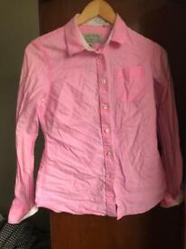 Ladies size 8 jack wills shirt