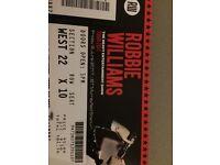 Robbie Williams Edinburgh