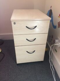 Two Sturdy Chests of drawers bedroom/office