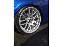 Looking set of staggered alloys 5x120 to suit e90. Memphis or csl style alloys../