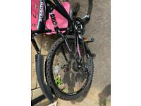 Ladies or girls stealth bike for sale