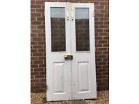Patio doors, excellent quality - know as Gunstock doors.