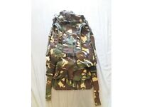 DUTCH ARMY ISSUED HOLDALL MILITARY TRAVEL DUFFLE BAG CAMOUFLAGE RUCKSACK