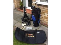 REDUCED: Golf clubs - everything you need in this bundle.