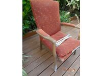 Parker Knoll Vintage Armchair in need of total refurbishment