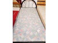 metal framed single bed for sale