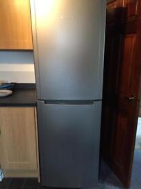 HOTPOINT - FSFL1810G Fridge Freezer - Graphite