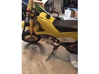 Mini moto 50 cc runs
