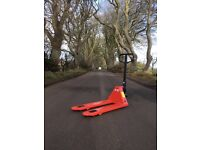 HAND PALLET TRUCK £120-£250 NEW AND USED AVAILABLE.