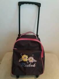 Reebok wheelie suitcase