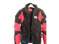 Textile Motorcycle Jacket 38'' Axo