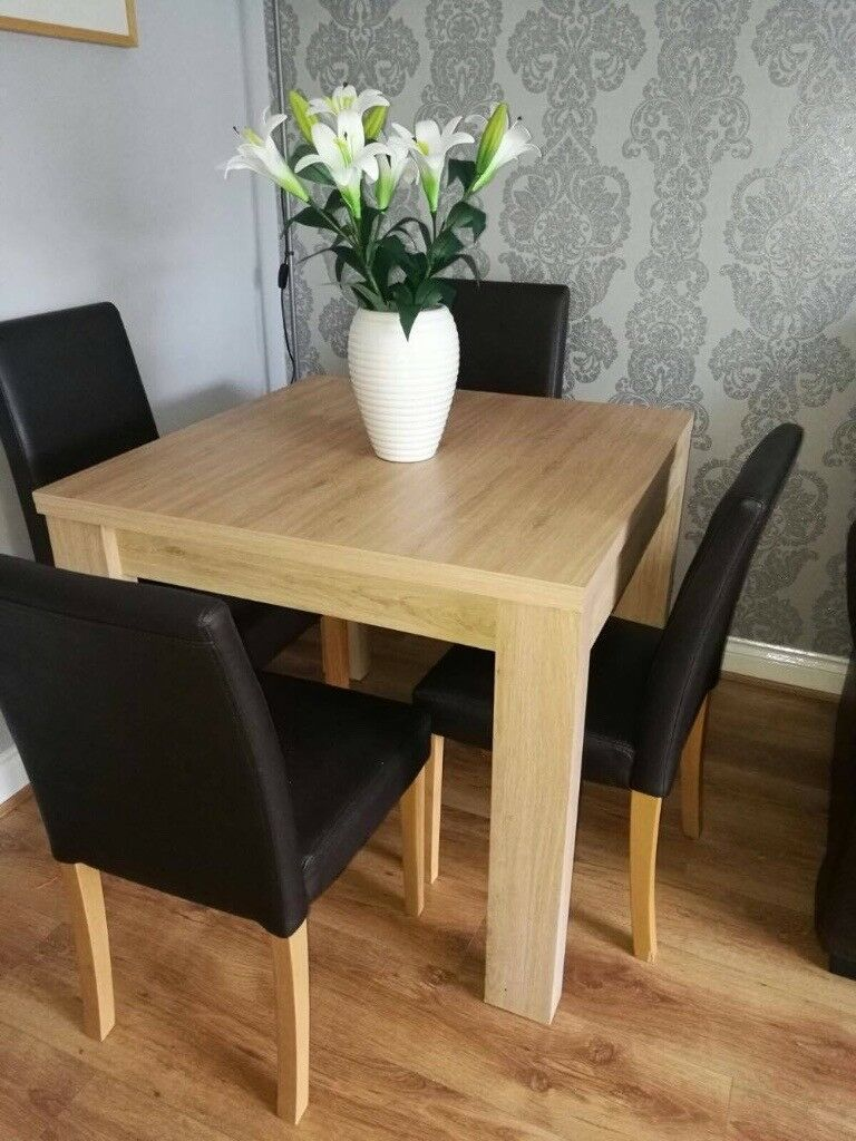 BEECH SQUARE TO RECTANGLE DINING TABLE