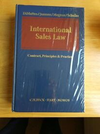 Brand New! International Sales Law: Contract, Principles & Practice