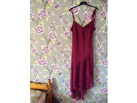 Lovely size 18 purple dress