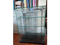 SEAL glass display cabinet perfect for shop / cafe