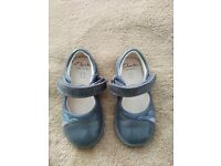 Clarks First Leather Shoes 4,5F(standard)