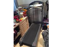 Weslo treadmill folding