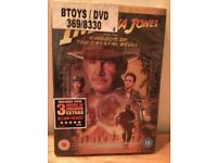 Indiana Jones And The Kingdom Of The Crystal Skull DVD.