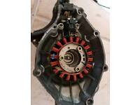 Ybr 125 stator and cover