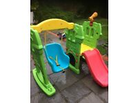 Little Tikes, outdoor toy, slide and swing