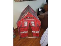Fire House Pop-Up Play Tent