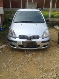 Breaking Toyota Yaris Most Parts Available 2000-2005