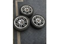 Alloy wheel audi A6