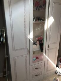 Large good condition wardrobe