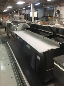 BRAND NEW PIZZA/SALAD PREP TABLES ON SALE
