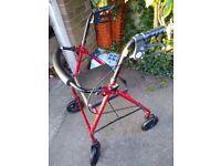Mobility walker & wheel chair