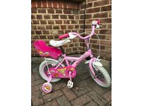"Child's bike (12"" wheel) in excellent condition"