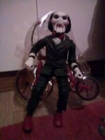 Billy saw trycycle ornament