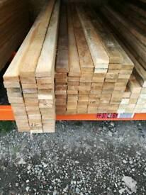 "2 1/2"" x 1"" (25mm x 65mm) Sawn Timber"