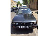 BEAUTIFUL VINTAGE 1990 CLASSIC BMW 320I E30 TOURING ESTATE AUTO BLACK