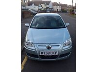 2009 Vw Volkswagen Polo 1.4TDI Bluemotion,HPI Clear,83000 Miles,Full Service History,Excellent