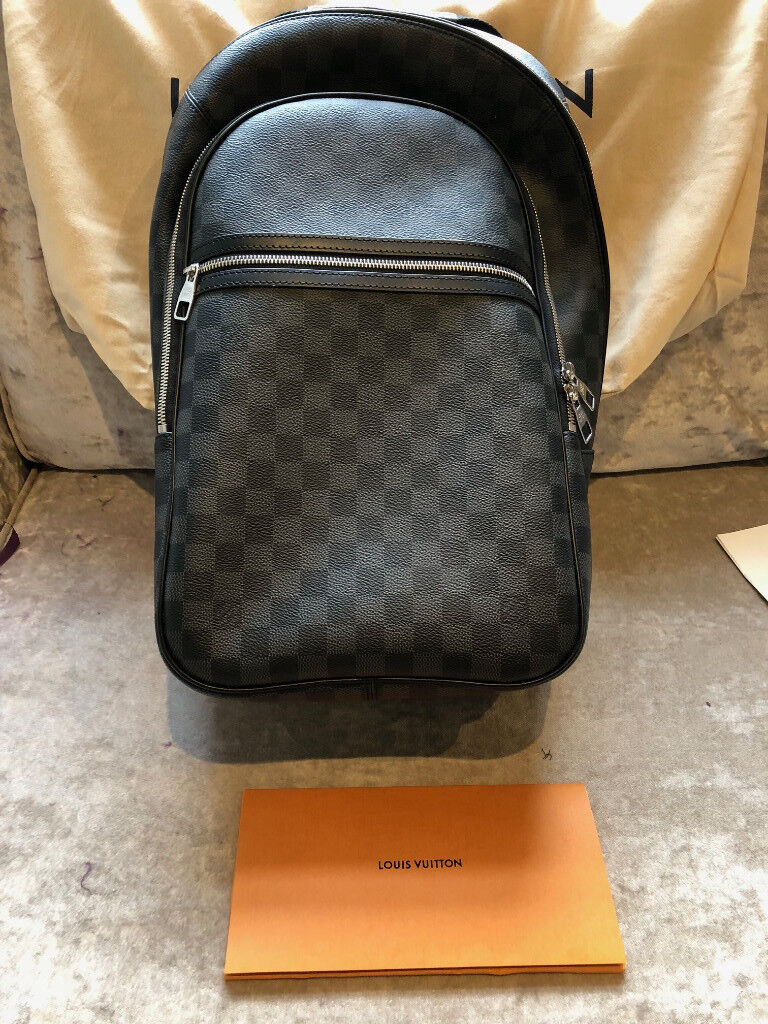 louis vuitton michael damier graphite back pack brand new with